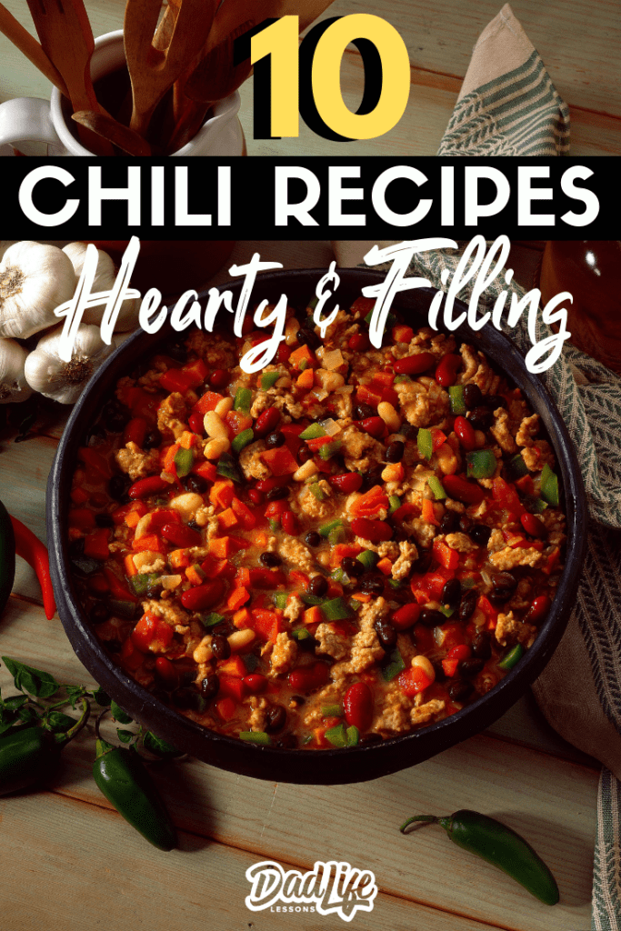 Hearty and filling chili recipes