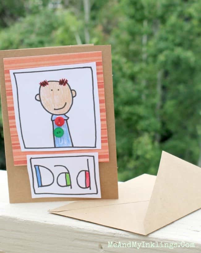 DIY Doodle Some Daddy Love Cards