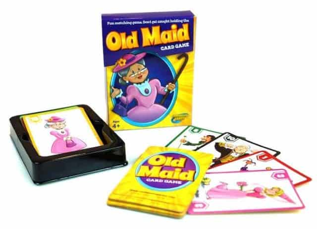 Old Maid Card game for kids
