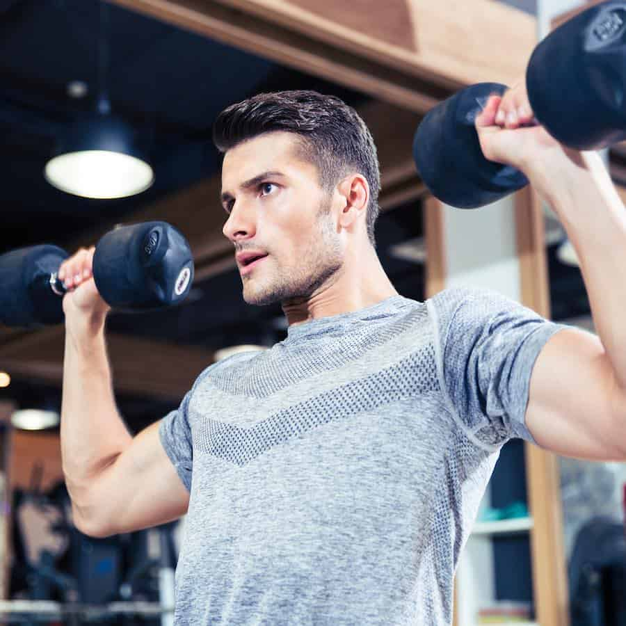 Guy Exercising