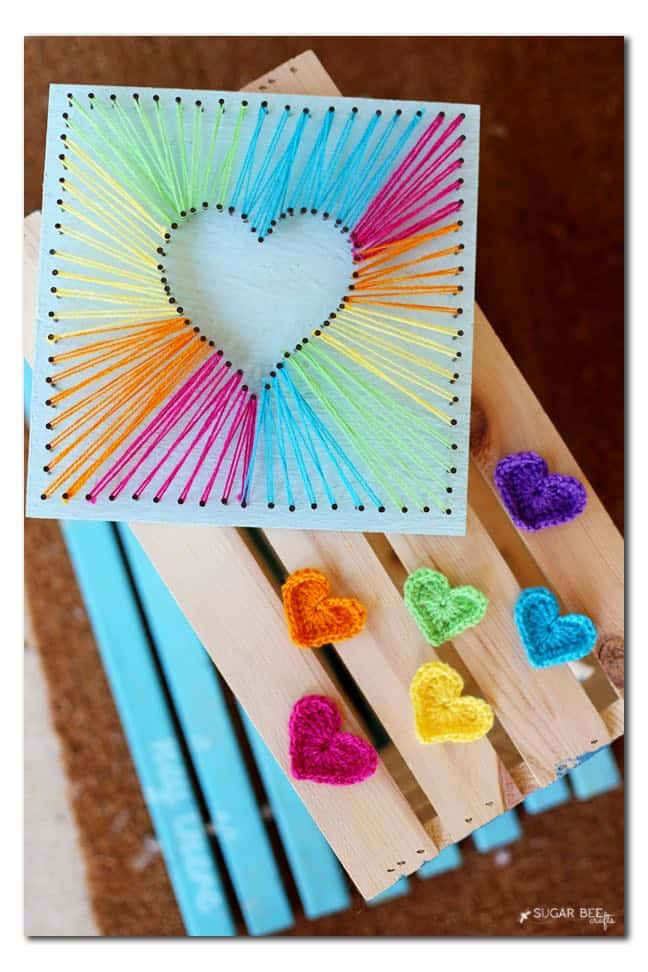 rainbow-crocheted-hearts-and-string-art-tutorial copy