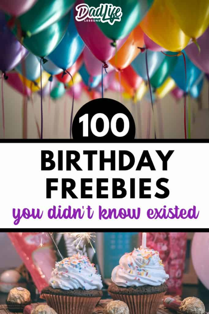 100 Birthday Freebies