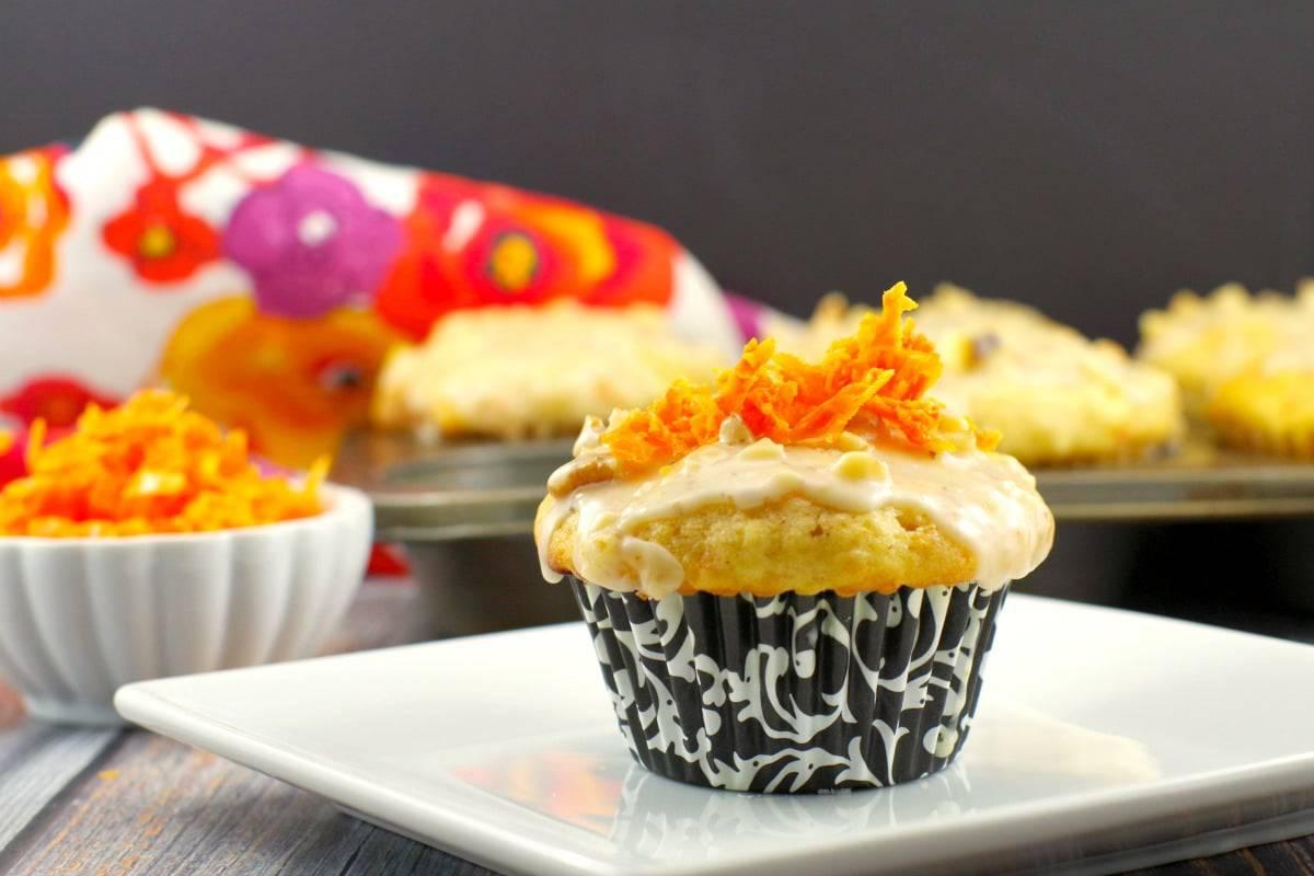 carrot cake doughnut muffin