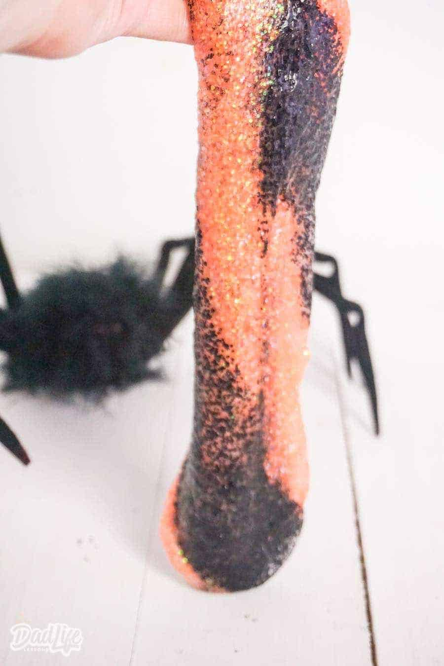 Halloween Slime Orange and Black