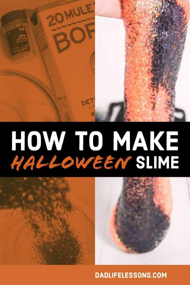 Make Halloween Slime Pin