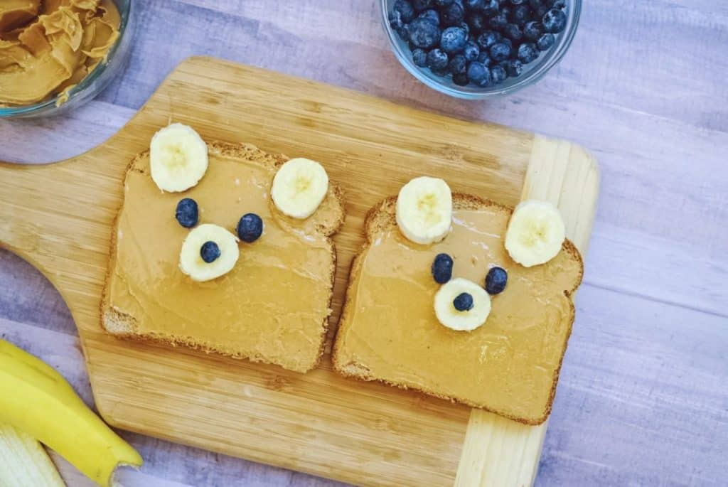 Fun Snacks For Toddlers - Teddy Bear Toasts