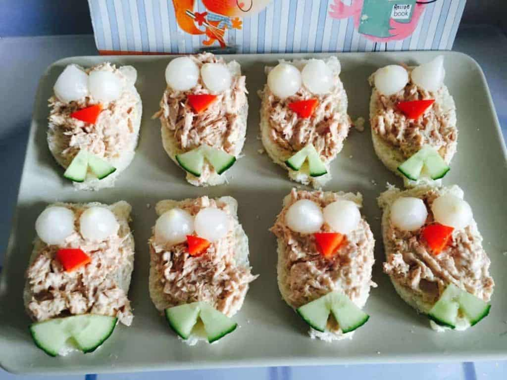 Fun Snacks For Toddlers - Owl Sandwiches