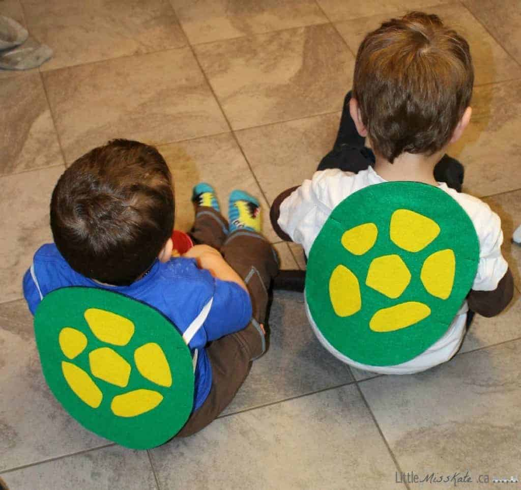 ninja turtle shell Costume for Kids