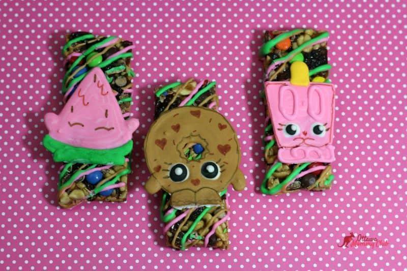 Fun Snacks For Toddlers - Shopkins Granola Bars