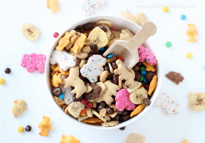Fun Snacks For Toddlers - Animal Mix
