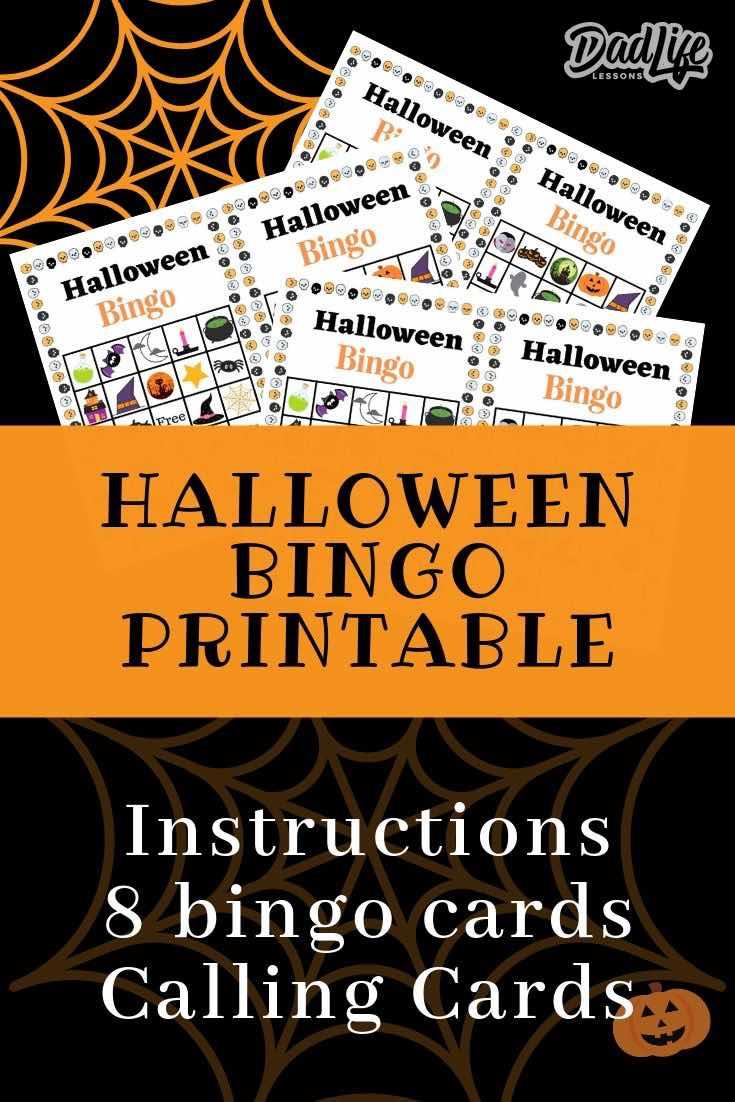 Halloween Bingo Pin3