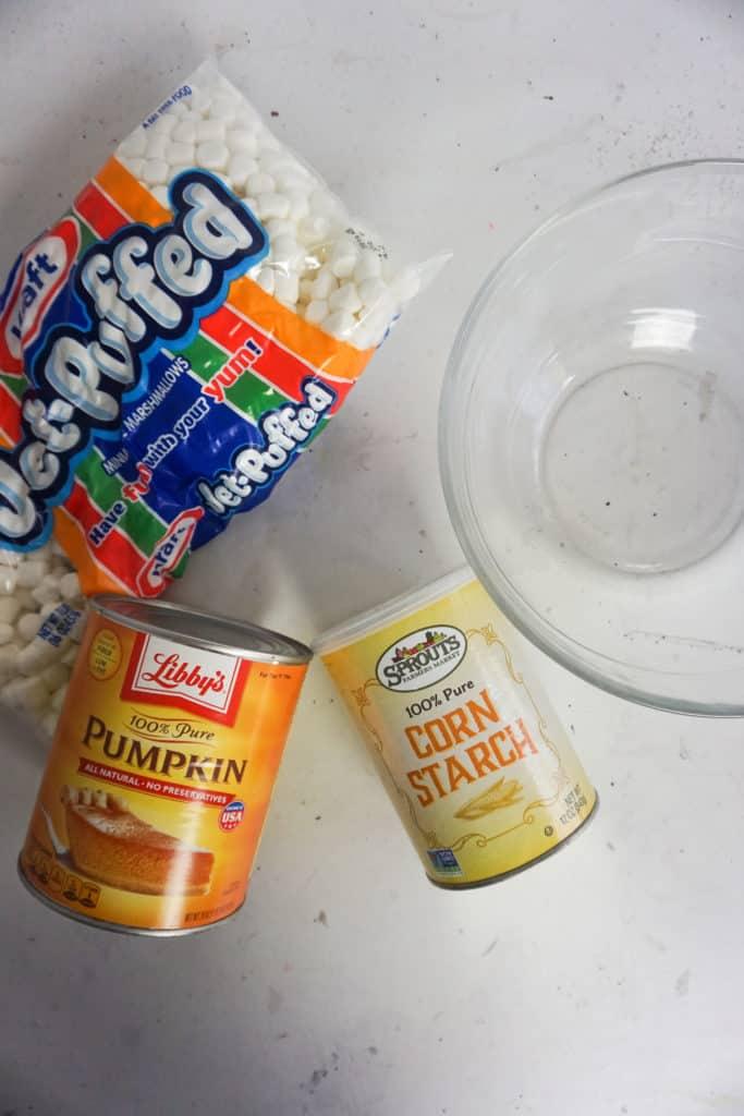 Pumpkin Pie Slime Ingredients