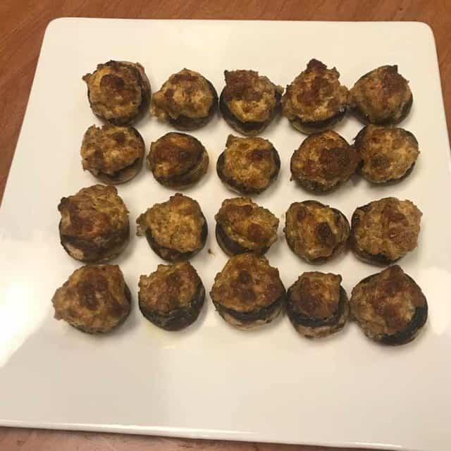 Easy Stuffed Mushrooms Featured Image