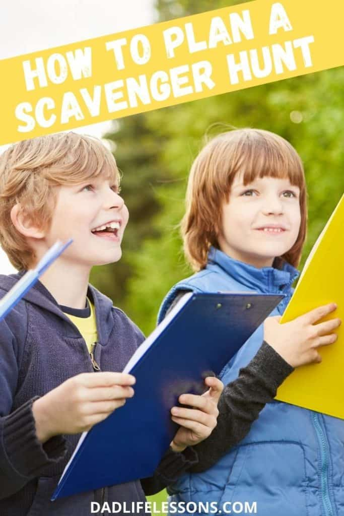 How To Plan A Scavenger Hunt