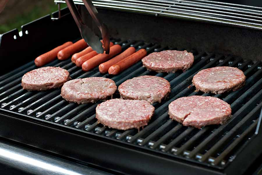grilled burgers and hotdogs best foods to grill