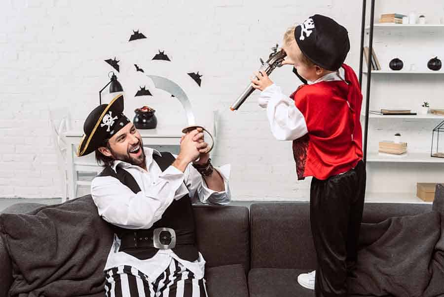 father son pirate halloween costume