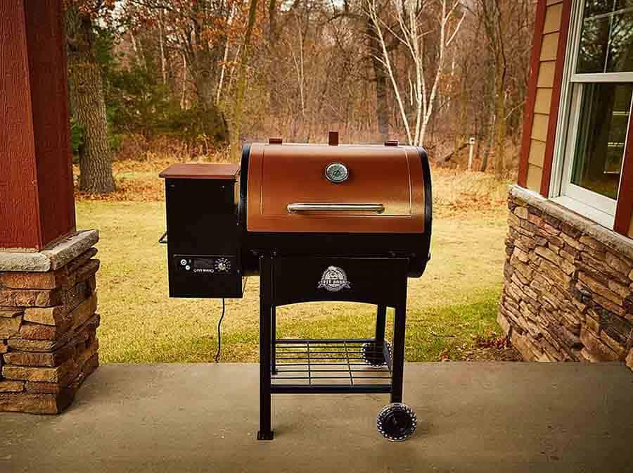 pitboss smoker grill combo