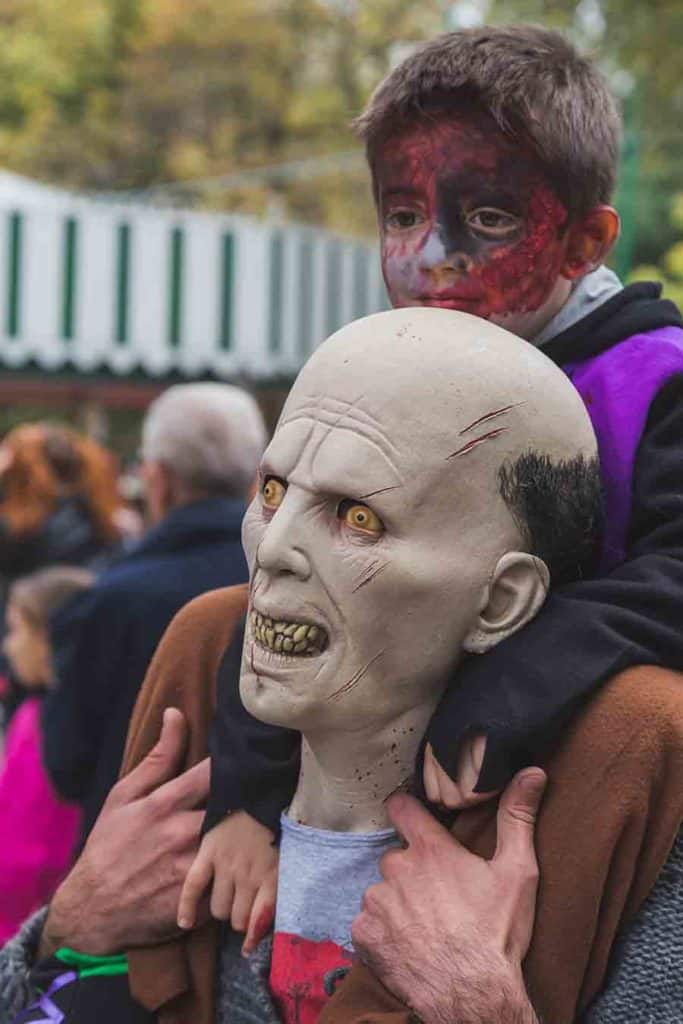 father son Zombie halloween costume