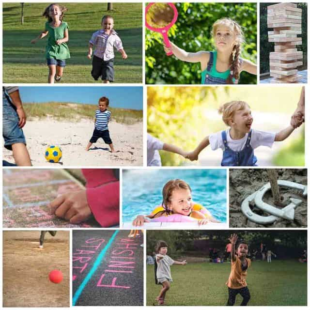 15 Fun Game To Play With Kids Outside Featured Image