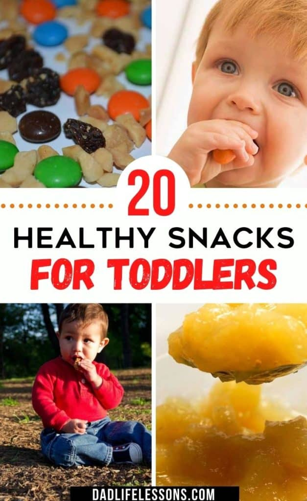 20 Healthy Snacks For Toddlers