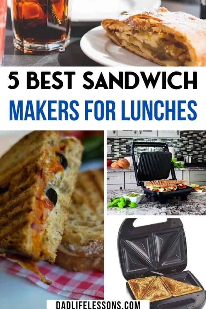 5 Best Sandwich Makers For Easy Lunches