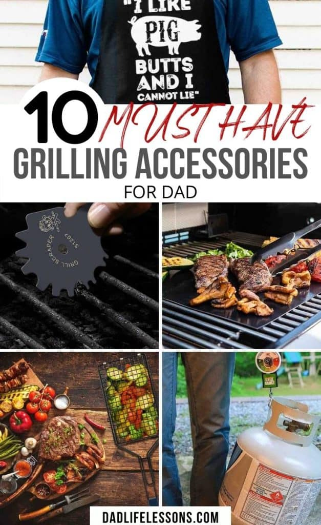 10 Must Have Grilling Accessories for Dad