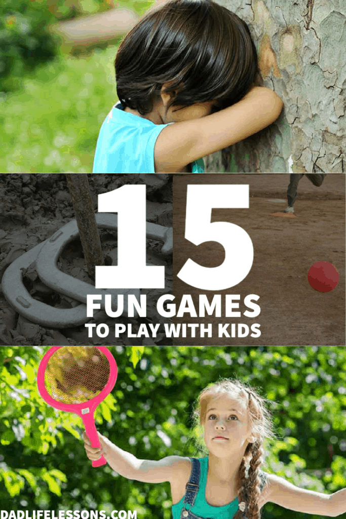 15 Fun Games To Pay With Kids Outside