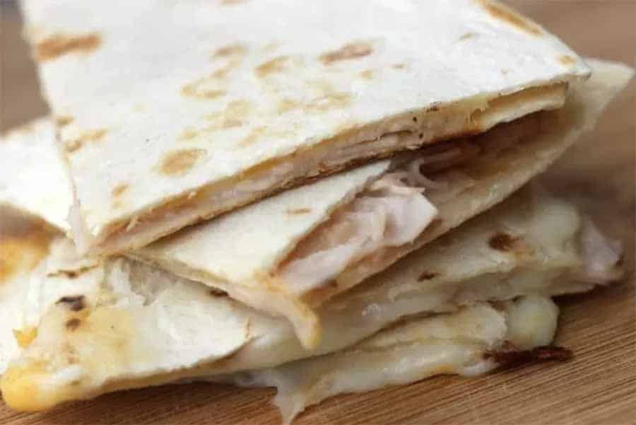 quesadilla lunch idea