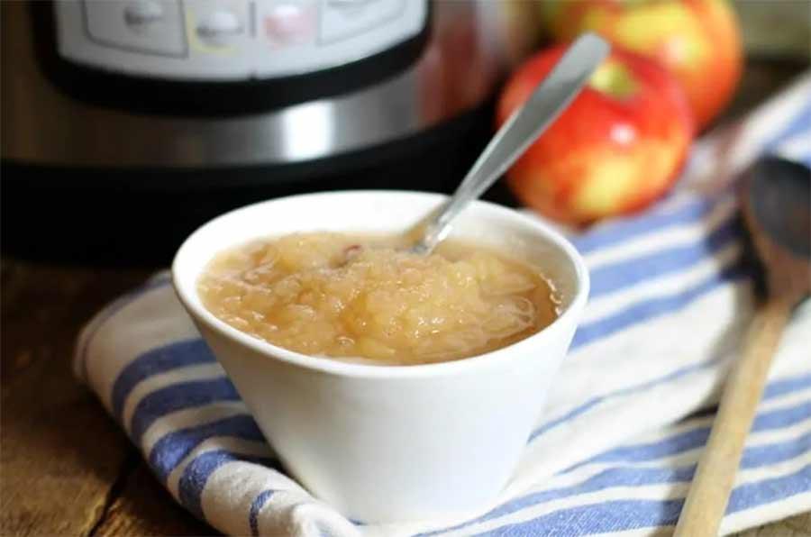 Easy homemade instant pot apple
