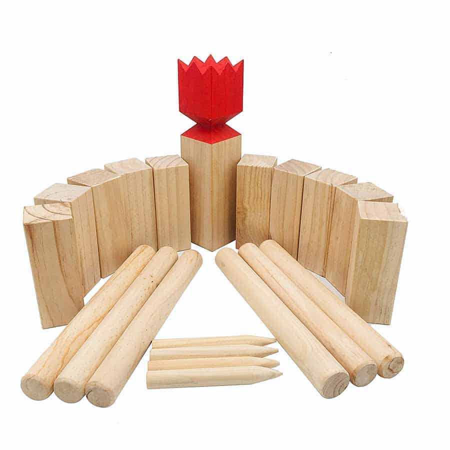 kubb game for fun outside