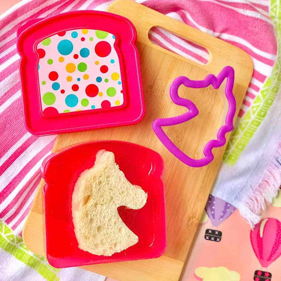 unicorn sandwich lunch ideas for picky eaters