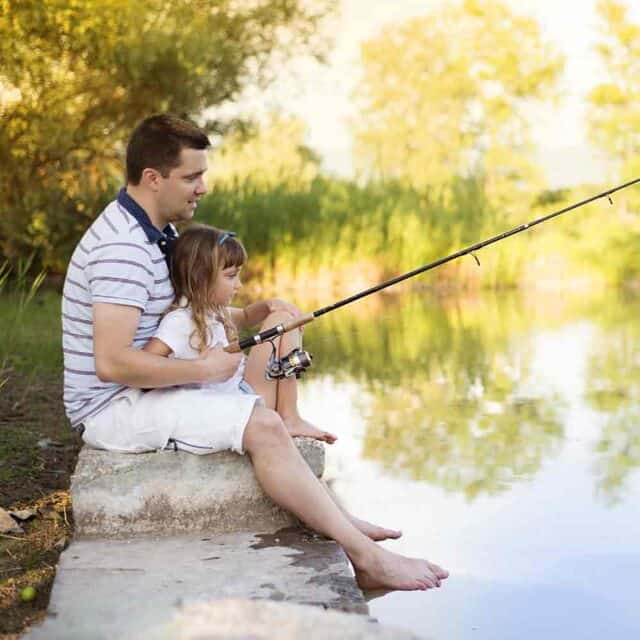 Tips for fishing with young kids featured image