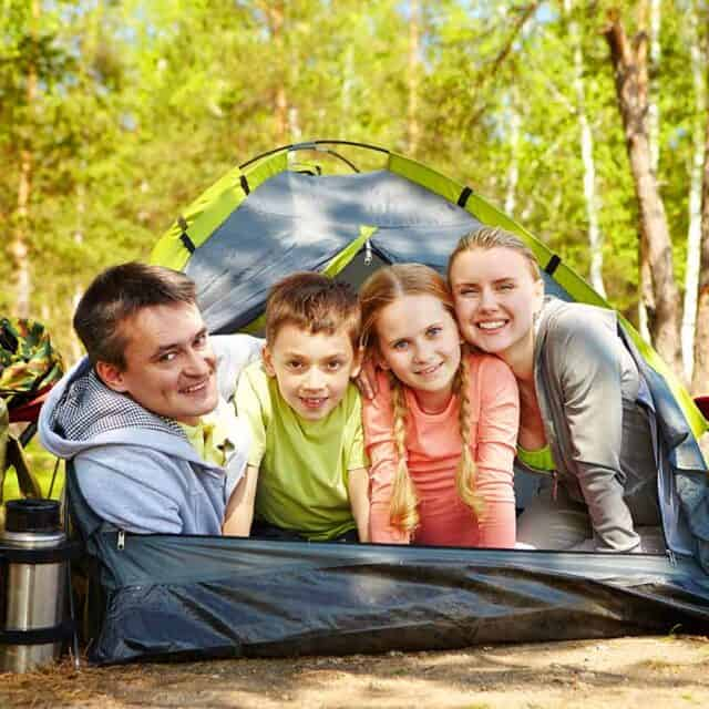 5 Ways To Entertain Kids On A Camping Trip Featured Image