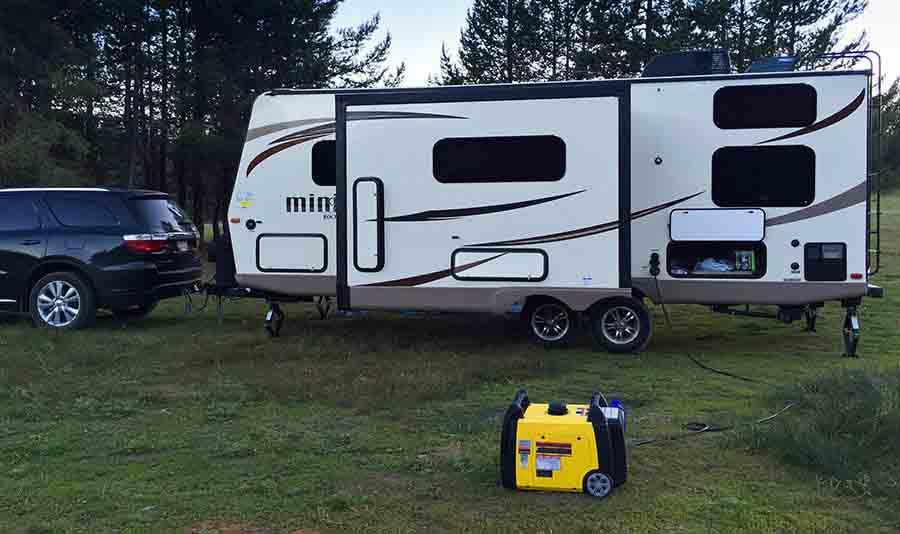 best camper at campsite